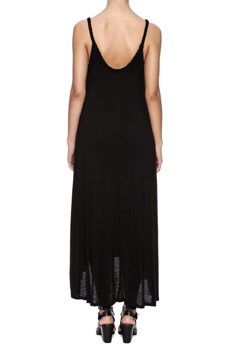 black knit dresses tyche black knit midi length dress from arizona by clothes