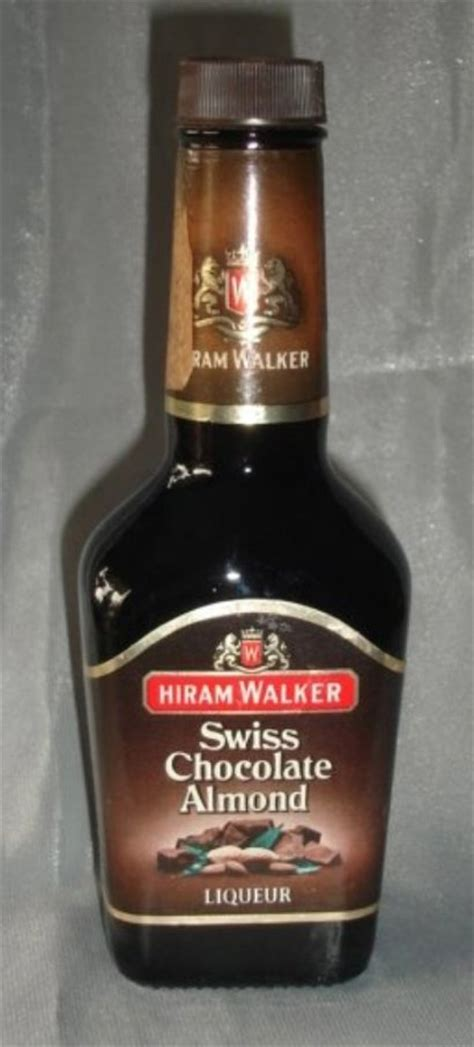 bar accessories hiram walker swiss chocolate liqueur