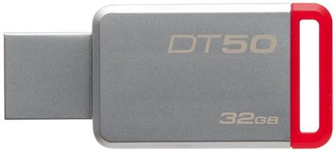 Kingston Datatraveler 50 Usb 3 1 32gb Dt50 32gbfr Diskon kingston datatraveler 50 32gb usb 3 1 dt50 32gb pendrive v 225 s 225 rl 225 s olcs 243 kingston datatraveler