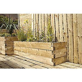Headboard Bolts Screwfix by Forest Rectangular Caledonian Raised Bed 1800 X 450 X