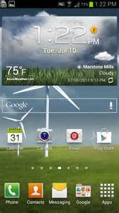 clock on home screen how to add home screen apps and widgets to the samsung
