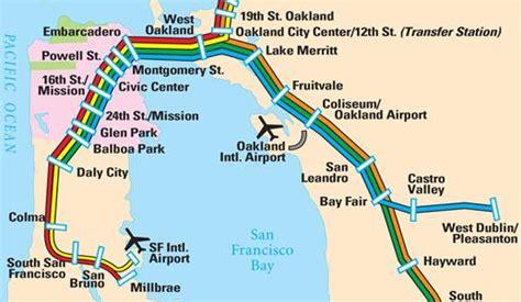 printable bay area map san francisco maps for visitors bay city guide san