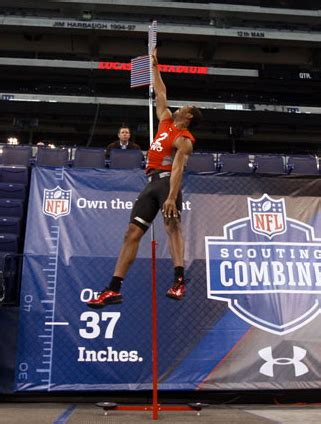 best vertical jump the ultimate guide to the nfl combine robertson