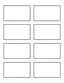 onlinelabels business card template onlinelabels product ol3072wx standard white matte