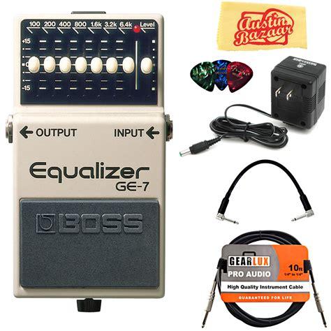 Ge 7 Graphic Equalizer by Ge 7 Graphic Equalizer W Power Supply Ebay