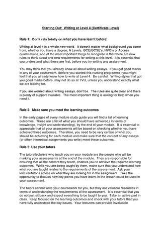 Writing at level 4 by Maria Wilkinson - Issuu