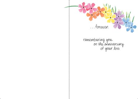 death anniversary greeting cards