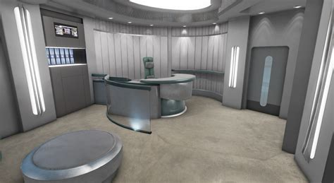 ready room janeways ready room image trek voyager project db