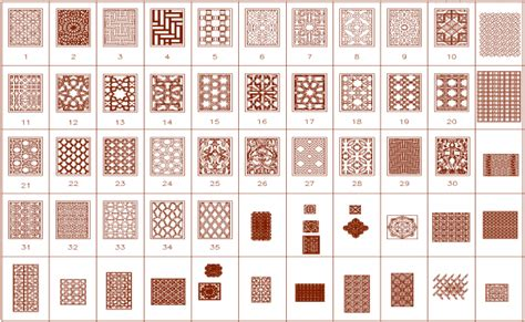 pattern dwg download blocks of floor pattern designs dwg file