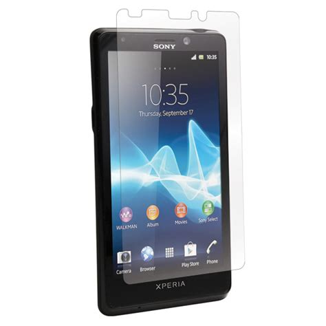 sony xperia t sony xperia t tl screen protectors by bodyguardz