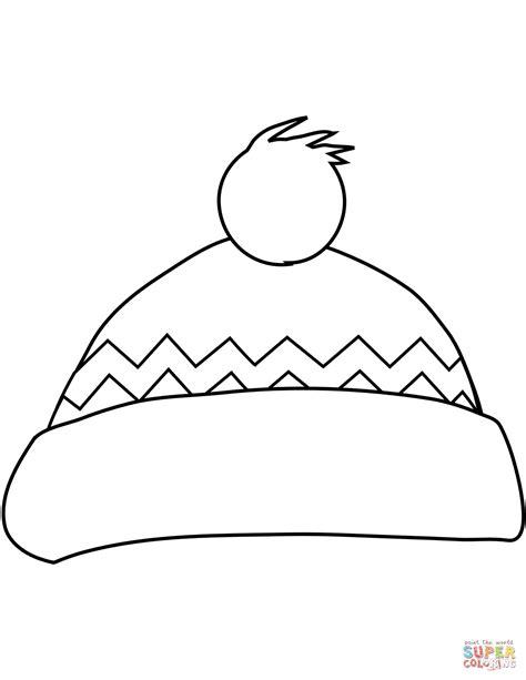 Winter Hat Template