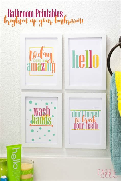 Printable Bathroom