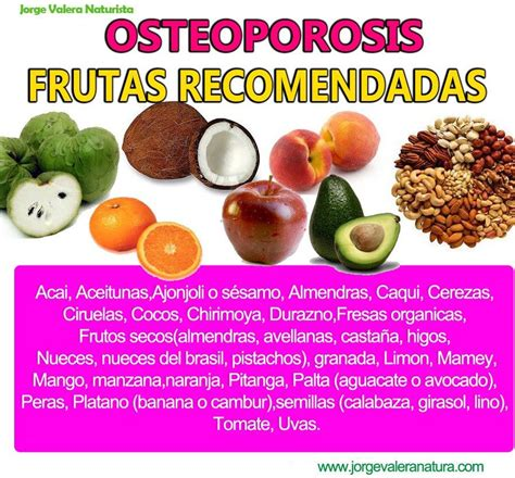 remedios naturales contra la osteoporosis frutas recomendadas natursanna bone health