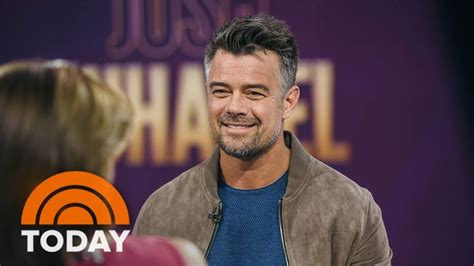 film love today josh duhamel talks about new series unsolved and film