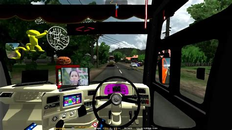 mod game ets2 rasa indonesia ets2 mod bus indonesia dan tes steer viyoutube