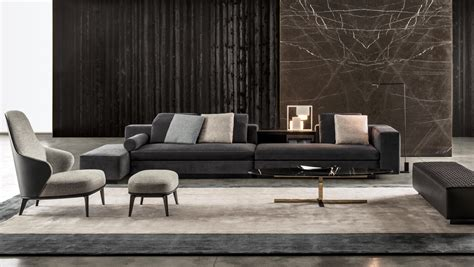 Armchair Design by Yang Modular Sofa Systems From Minotti Architonic