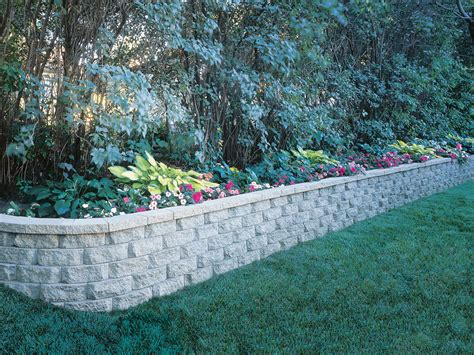 How To Landscape Your Front Yard Windsor Block Stone Retaining Wall Amp Garden Wall Blocks