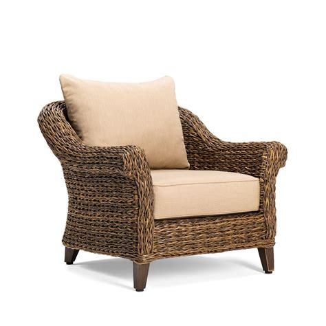 bahama lounge chair blue oak bahamas wicker outdoor lounge chair with