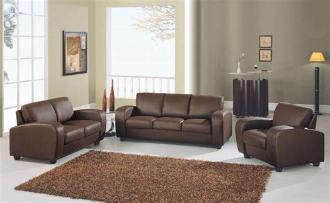 Color Schemes For Living Room With Brown Furniture Brown Sofa Sets Plushemisphere
