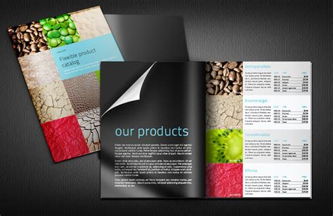free catalogue template product catalogue indesign template