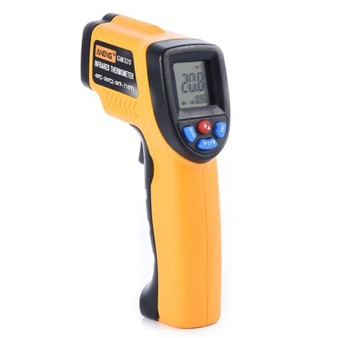 Thermometer Infrared Digital aneng gm320 fahrenheit digital infrared thermometer pyrometer laser outdoor celsius thermometers