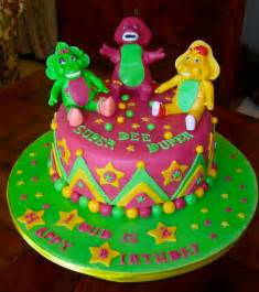 barney birthday cake another barney and friends cake