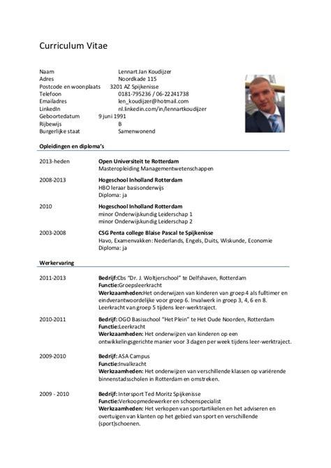 Voorbeeld Cv Leerkracht Basisonderwijs Cv Voorbeeld 2018 basisschool op cv voorbeeld cv 2018