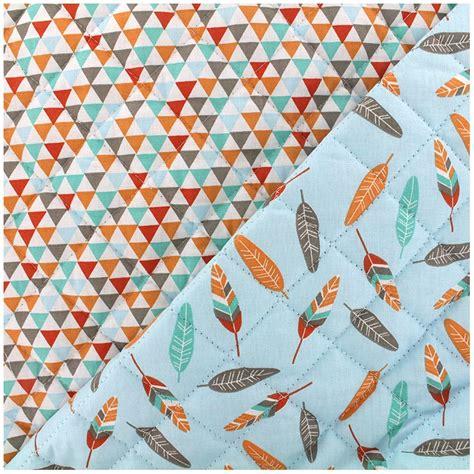 Quilted Cotton Fabric by Quilted Cotton Fabric Isuzu Miwi Sky X 10cm Ma