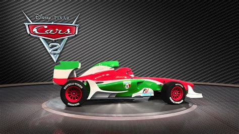 Bernoulli Scformula cars 2 turntable quot francesco bernoulli quot