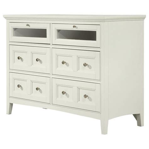 kentwood bedroom furniture magnussen home kentwood media chest with 4 drawers and 2 drawers with drop down glass