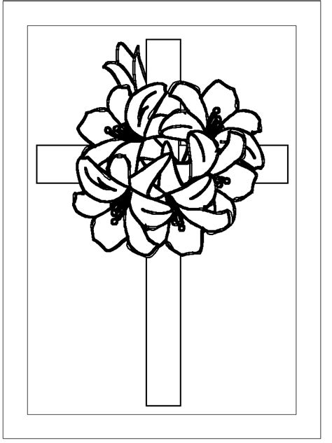 coloring pictures of easter cross easter pages to color free coloring pages part 4