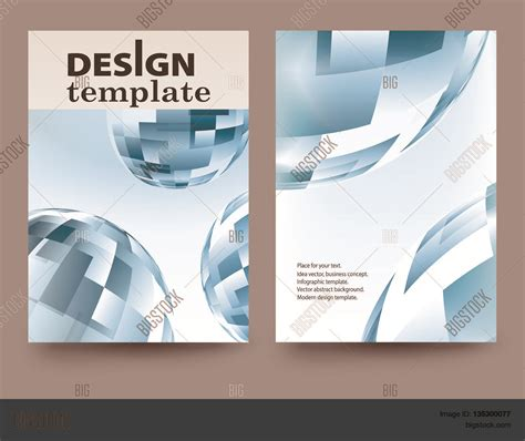brochure design template vector brochure flyer design