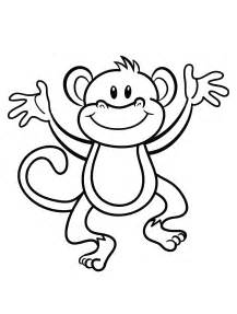 coloring pictures free coloring monkeys coloring pages