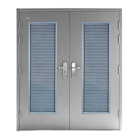 Louvered Doors Double Steel Doors And Accessories From Louvered Glass Doors