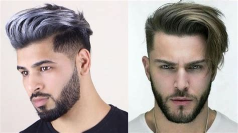 cool short hairstyles  men   hair coloring  men  youtube