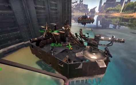 ark raid boat designs the tyrant raiding boat creative chat ark official