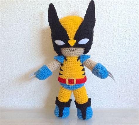 amigurumi wolverine pattern 330 best images about crochet superheroes on pinterest