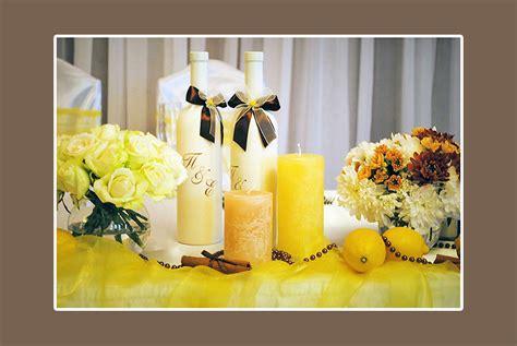 Tischdeko Hochzeit Gelb by Gelb Hochzeitsdeko Tips