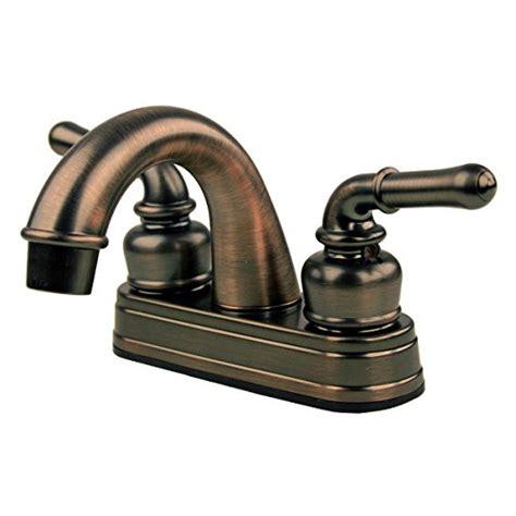 rv mobile home bath sink faucet rubbed bronze