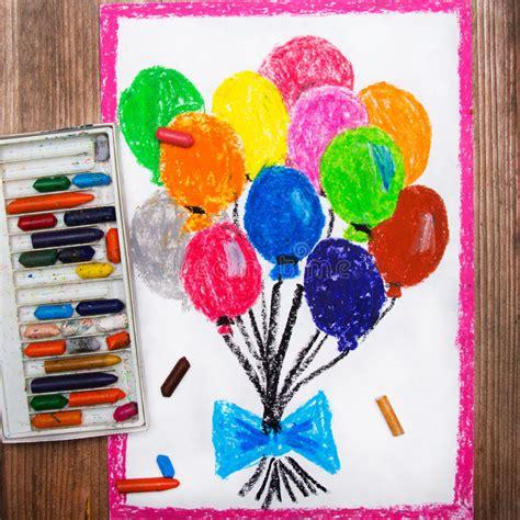 dibujos para mochilas wayuu faciles pinterest dibujos globos coloridos imagen de archivo imagen de