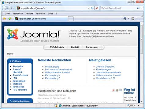tutorial joomla css joomla templates nach ma 223 joomla cms tutorials de