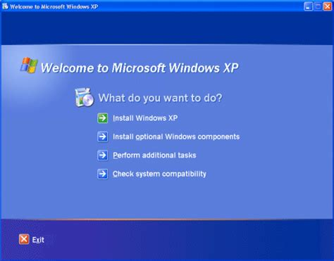 setup local xp installing windows xp professional using windows setup