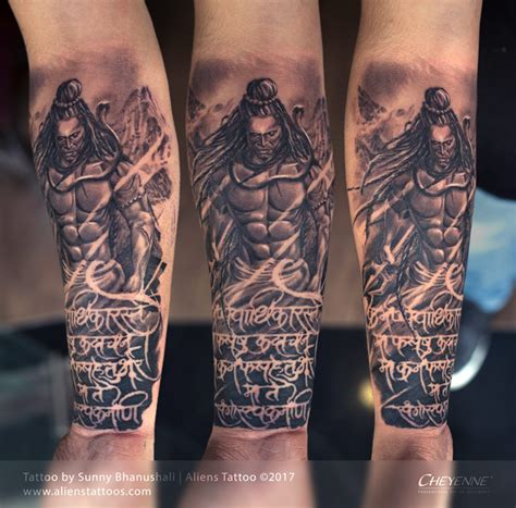 lord shiva tattoo for hand religious tattoos archives aliens tattoo the best