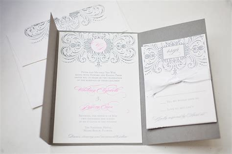 pink and gray wedding invitations southern weddings southern wedding ideas boxed