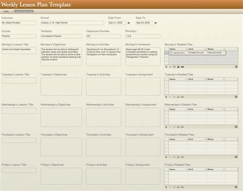 planbook lesson planner free for teachers common curriculum