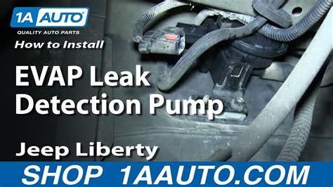 install replace evap leak detection pump