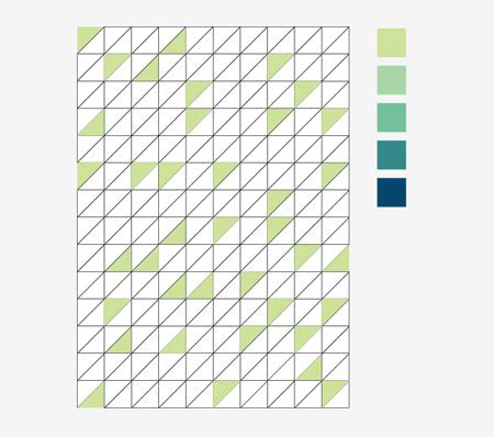 illustrator pattern edge create a retro triangular pattern design in illustrator