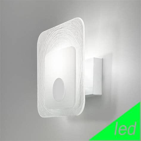 Applique Design Moderno by Krea Kubo Applique Vetro Soffiato L 11 Led Design Moderno