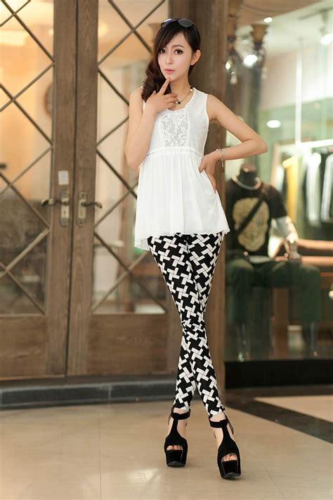 Celana Motif Import legging wanita import motif terbaru model terbaru jual