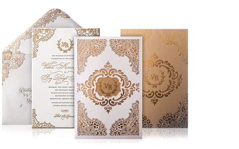 luxury wedding invitation ideas valerie and roy luxury wedding invitations custom
